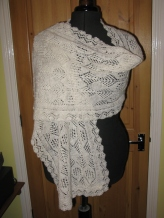 1 ply shawl